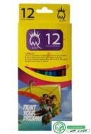 مداد رنگی 12 رنگ ام کیو MQ (خرید ارزان)